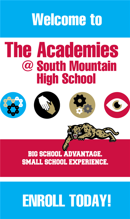 The Academies at South. Enroll Today!