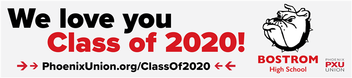 We love you Bostrom Class of 2020!