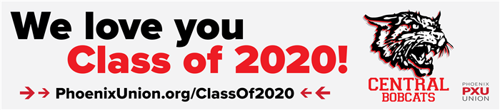 We love you Central Class of 2020!